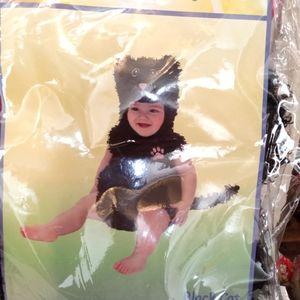 Black cat Halloween costume ( 2 for 6)